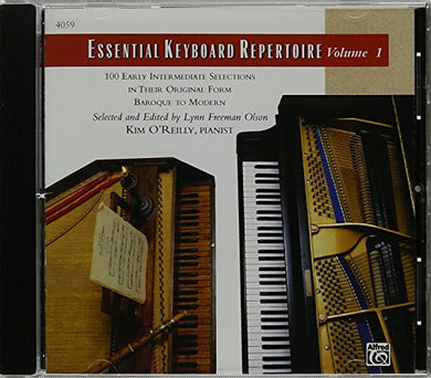 Essential Keyboard Repertoire, Vol 1: 100 Early Intermediate Selections In Their Original Form - Baroque To Modern (Cd)