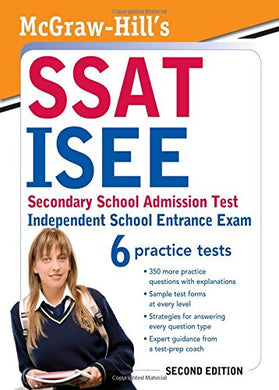 Mcgraw-Hill'S Ssat/Isee, Secondary School Admission Test / Independent School Entrance Exam
