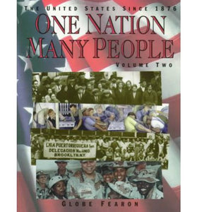 One Nation Many People, Vol. 2: The United States Since 1876
