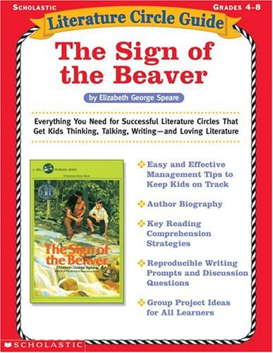 The Sign Of The Beaver (Literature Circle Guide)