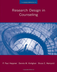 Research Design In Counseling (Research, Statistics, Program Evaluation)