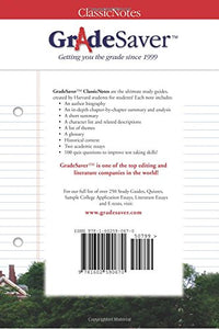 Gradesaver(Tm) Classicnotes East Of Eden