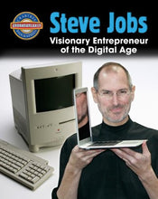 Load image into Gallery viewer, Steve Jobs: Visionary Entrepreneur Of The Digital Age (Crabtree Groundbreaker Biographies)