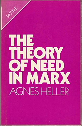 Theory Of Need In Marx