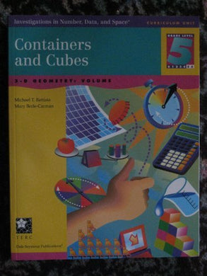 Containers And Cubes: 3-D Geometry - Volume