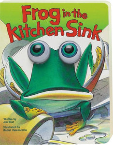 Frog In The Kitchen Sink (Eyeball Animation): Board Book Edition