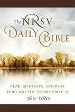 Load image into Gallery viewer, The Nrsv Daily Bible (Brown Imitation Leather): Read, Meditate, And Pray Through The Entire Bible In 365 Days