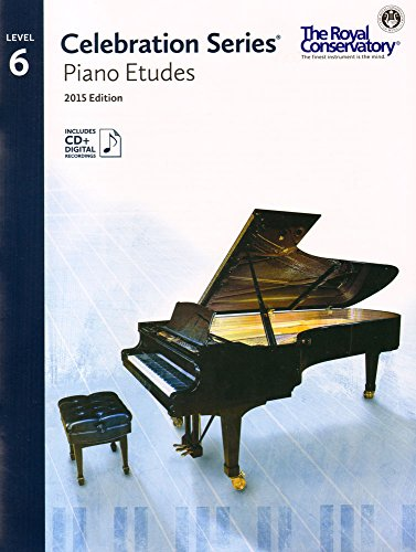 C5S06 - Royal Conservatory Celebration Series - Piano Etudes Level 6 Book 2015 Edition