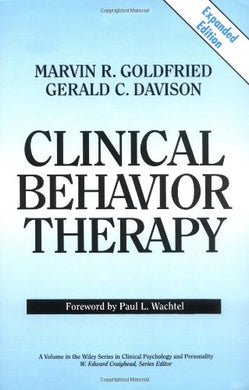 Clinical Behavior Therapy, Expanded