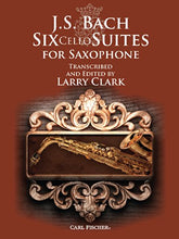 Load image into Gallery viewer, Wf162 - J.S. Bach: Six Cello Suites For Saxophone