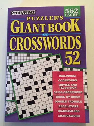Penny Press Puzzlers Giant Book Of Crosswords Volume 52