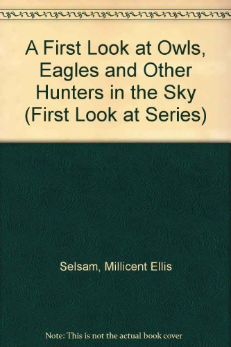 A First Look At Owls, Eagles And Other Hunters In The Sky (First Look At Series)