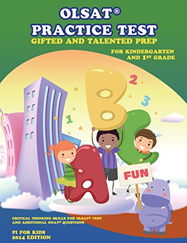 Gifted And Talented Test Prep: Olsat Practice Test (Kindergarten And 1St Grade): With Additional Nnat Exercise, Critical Thinking Skill (Volume 2)
