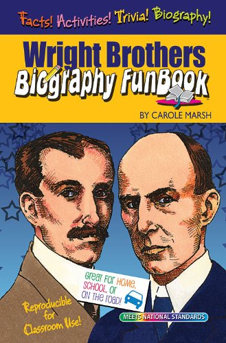 Wright Brothers Biography Funbook (Biography Funbooks)