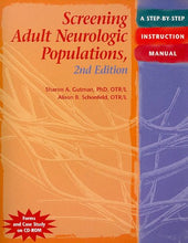 Load image into Gallery viewer, Screening Adult Neurologic Populations: A Step-By-Step Instruction Manual, 2Nd Edition
