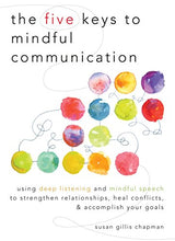 Load image into Gallery viewer, The Five Keys To Mindful Communication: Using Deep Listening And Mindful Speech To Strengthen Relationships, Heal Conflicts, And Accomplish Your Goals