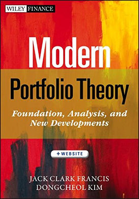 Modern Portfolio Theory, Website: Foundations, Analysis, And New Developments