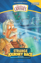 Load image into Gallery viewer, Strange Journey Back: Strange Journey Back/High Flyer With A Flat Tire/The Secret Cave Of Robinwood/Behind The Locked Door (Adventures In Odyssey Fiction Series 1-4)