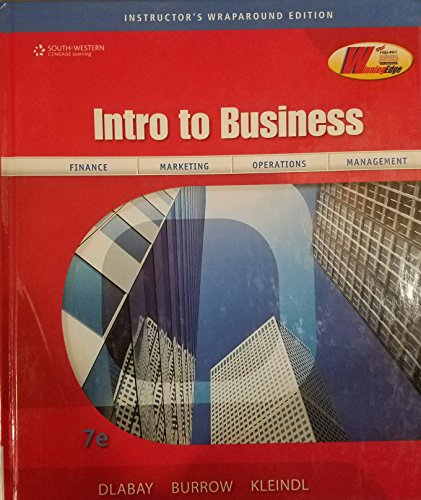 Introduction To Business, Instructor'S Wraparound Edition
