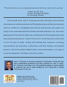Creditor Protection For Florida Physicians: A Comprehensive Guide For Physicians And Their Advisors
