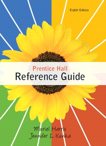 Prentice Hall Reference Guide (8Th Edition)