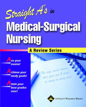 Load image into Gallery viewer, Straight A'S In Medical-Surgical Nursing