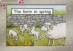 Rigby Pm Platinum Collection: Individual Student Edition Magenta (Levels 1-2) The Farm In Spring