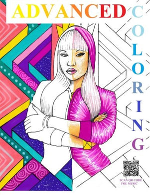 Advanced Coloring Books: Hip-Hop/R&B Artists: Adult Coloring Books (Advanced Coloring Hip-Hop Artist) (Volume 1)