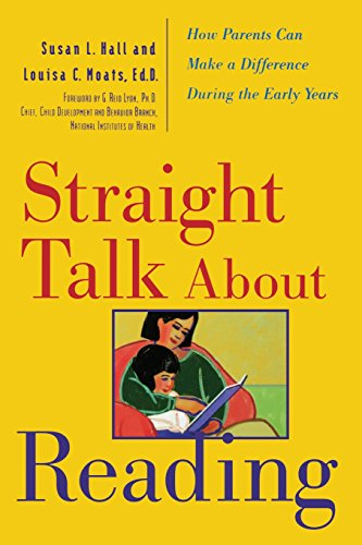Straight Talk About Reading: How Parents Can Make A Difference During The Early Years