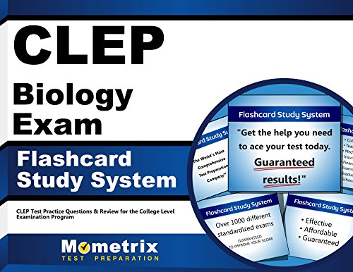 Clep Biology Exam Flashcard Study System: Clep Test Practice Questions & Review For The College Level Examination Program (Cards)