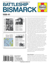 Load image into Gallery viewer, Battleship Bismarck Manual 1936-41: An Insight Into The Design, Contruction And Operation Of Nazi Germany'S Most Famous And Feared Battleship (Owners' Workshop Manual)