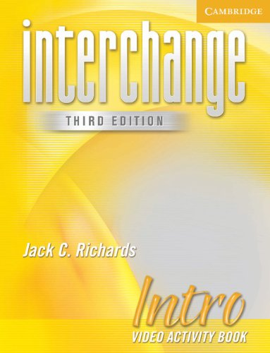 Interchange Intro Video Activity Book