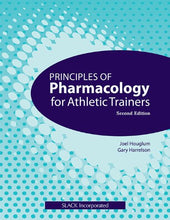 Load image into Gallery viewer, Principles Of Pharmacology For Athletic Trainers