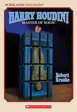 Load image into Gallery viewer, Harry Houdini: Master Of Magic (Harry Houdini Mysteries)