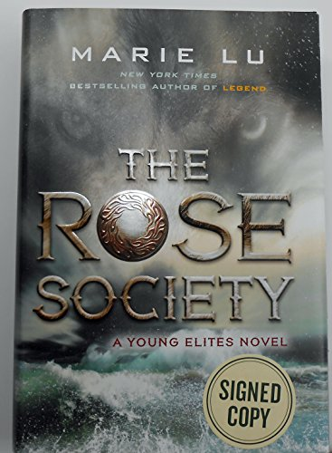 Signed! The Rose Society Hardcover