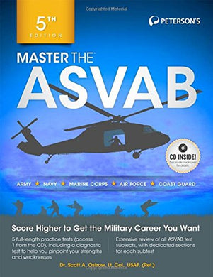 Master The Asvab With Cd (Peterson'S Master The Asvab)