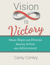Load image into Gallery viewer, Vision Is Victory: Where Hopes And Dreams Become Action And Achievement