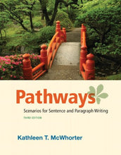 Load image into Gallery viewer, Pathways: Scenarios For Sentence And Paragraph Writing (3Rd Edition)