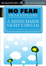 Load image into Gallery viewer, A Midsummer Night'S Dream (No Fear Shakespeare)