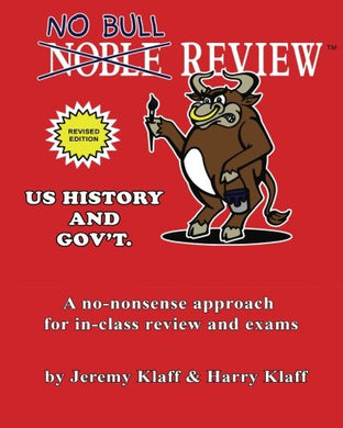 No Bull Review - U.S. History And Gov'T