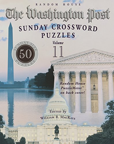 The Washington Post Sunday Crossword Puzzles, Vol. 11