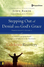 Load image into Gallery viewer, Stepping Out Of Denial Into God'S Grace Participant'S Guide 1: A Recovery Program Based On Eight Principles From The Beatitudes (Celebrate Recovery)