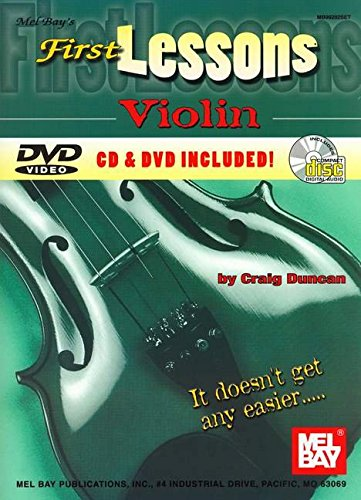Mel Bay'S First Lessons Violin