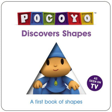 Pocoyo Discovers Shapes: A First Book Of Shapes