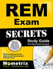 Load image into Gallery viewer, Study Notes For The Rem Exam Study Guide: Rem Test Review For The Registered Environmental Manager Exam (Mometrix Secrets Study Guides)