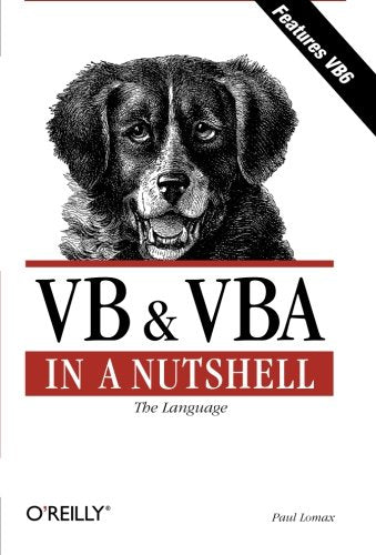 Vb & Vba In A Nutshell: The Language (In A Nutshell (O'Reilly))