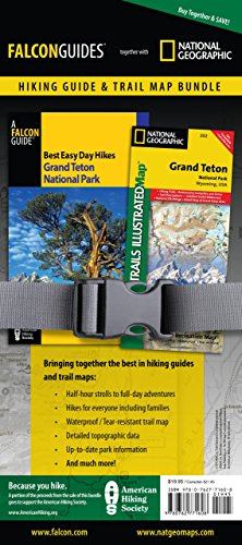 Best Easy Day Hiking Guide And Trail Map Bundle: Grand Teton National Park (Best Easy Day Hikes Series)