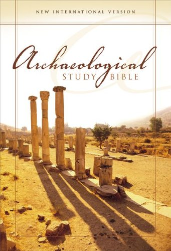 Niv Archaeological Study Bible, Personal Size: An Illustrated Walk Through Biblical History And Culture