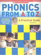 Load image into Gallery viewer, Phonics From A To Z (2Nd Edition) (Scholastic Teaching Strategies)
