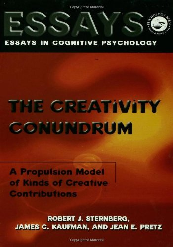 The Creativity Conundrum: A Propulsion Model Of Kinds Of Creative Contributions